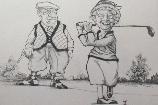 The Perfect Couple (golfers)