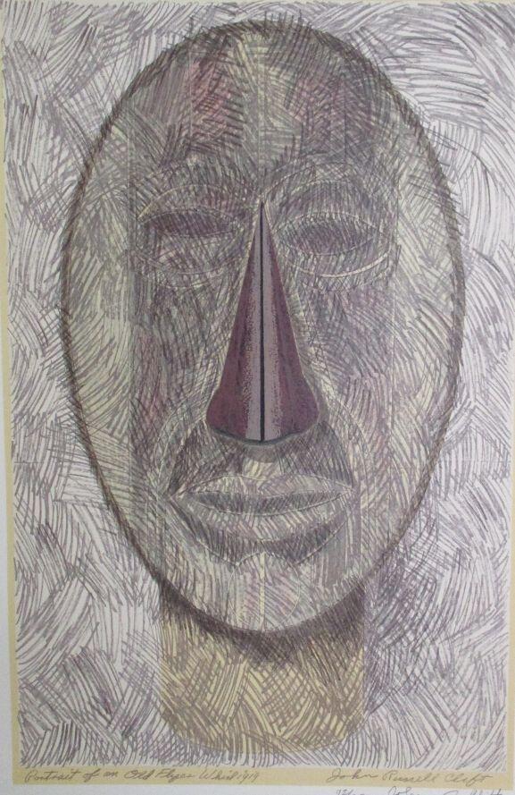 Portrait of an Old Flyer Whirligig