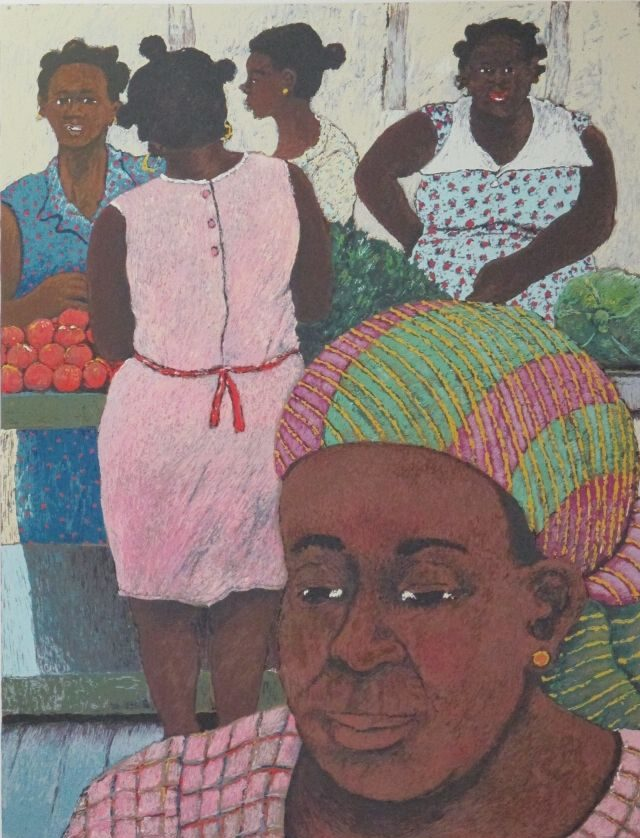 Women of Guadeloupe