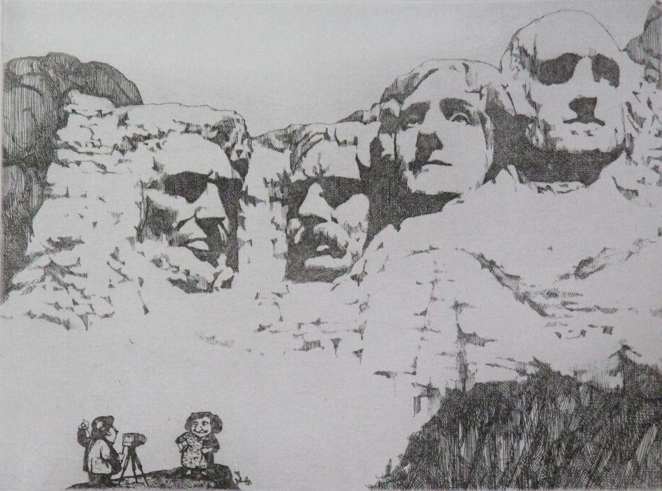 (Untitled) Mount Rushmore