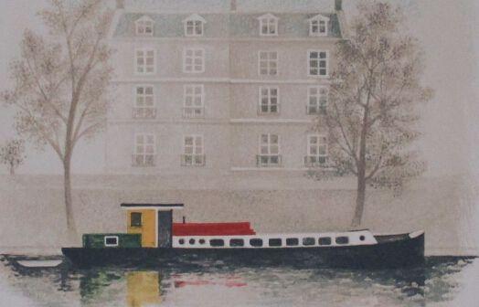 Paris Barge
