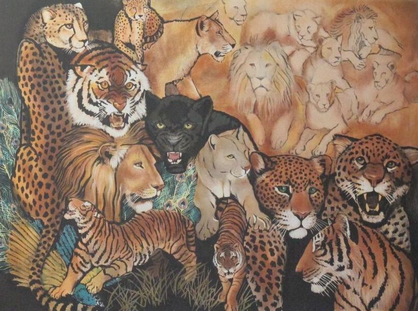 Big Cats Composition (2)