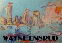 Blue City Seafront by Wayne Ensrud at ArtFINDca link