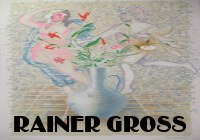 Lillies Carnations Stones by Rainer Gross at ArtFINDca link