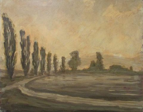 Poplars by the Red Road by Richard Stipl Investment