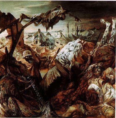 Trench Warfare by Otto Dix