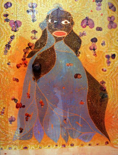The Holy Virgin Mary by Chris Ofili at ArtFIND.ca