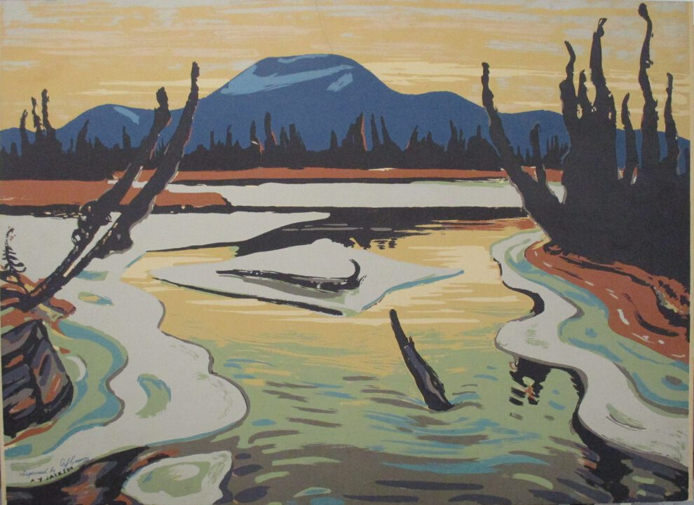 Smart River by Alexander Young Jackson at ArtFINDca